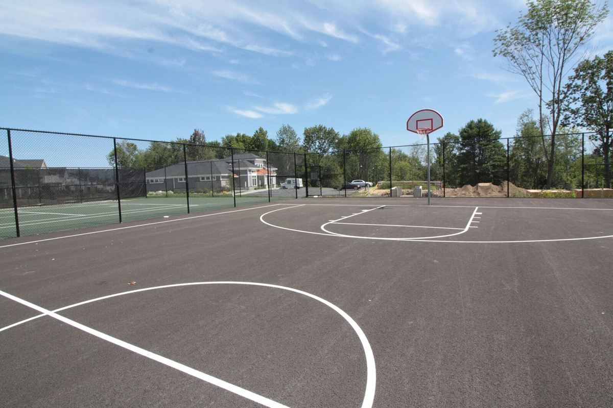 Northern Pass Luxury Baskball Courts Colonie NY